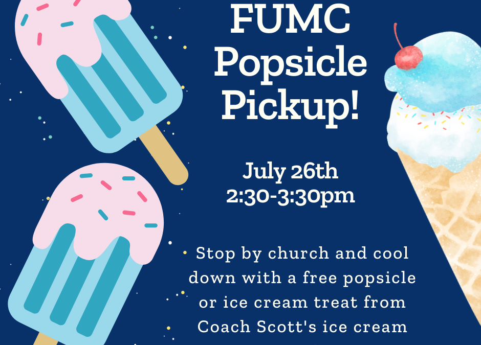 FUMC Children's Ministry Event