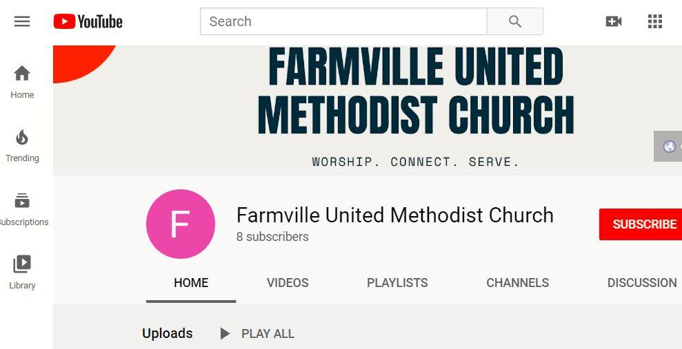 Farmville UMC on YouTube